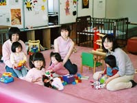 親子の遊び場スペース