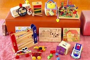 いろいろなおもちゃがいっぱい!